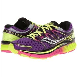 Saucony Triumph ISOfit running shoes.